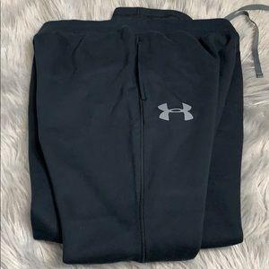 Men's under Armour black sweat pants 2XL
